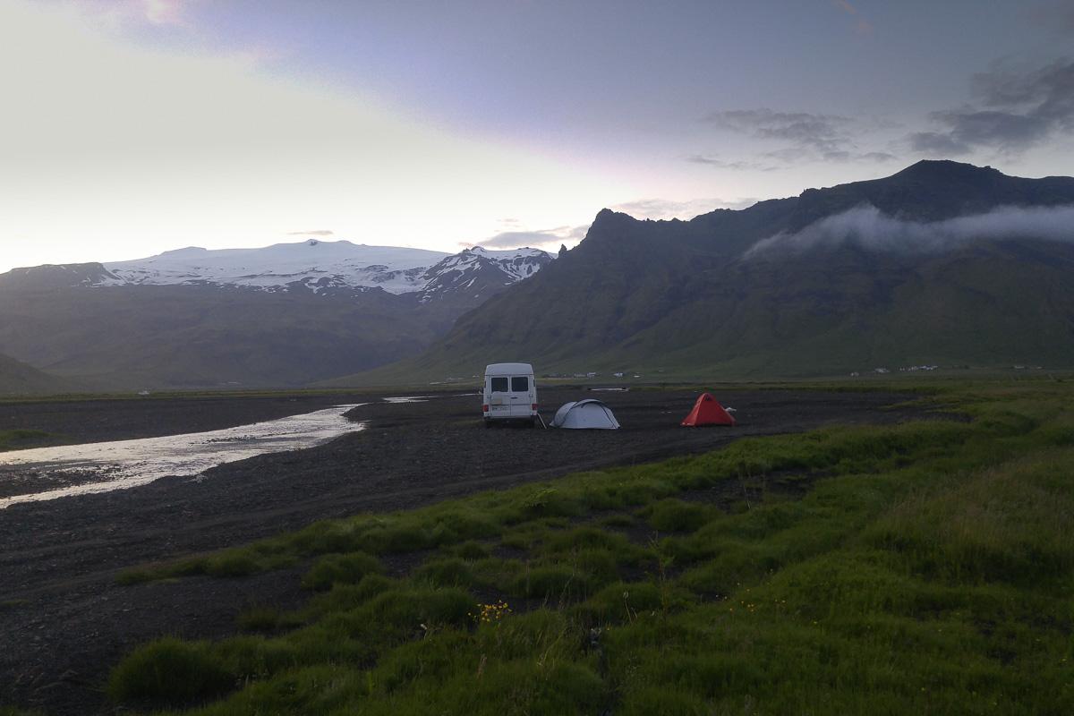 noclegi na dziko, Islandia