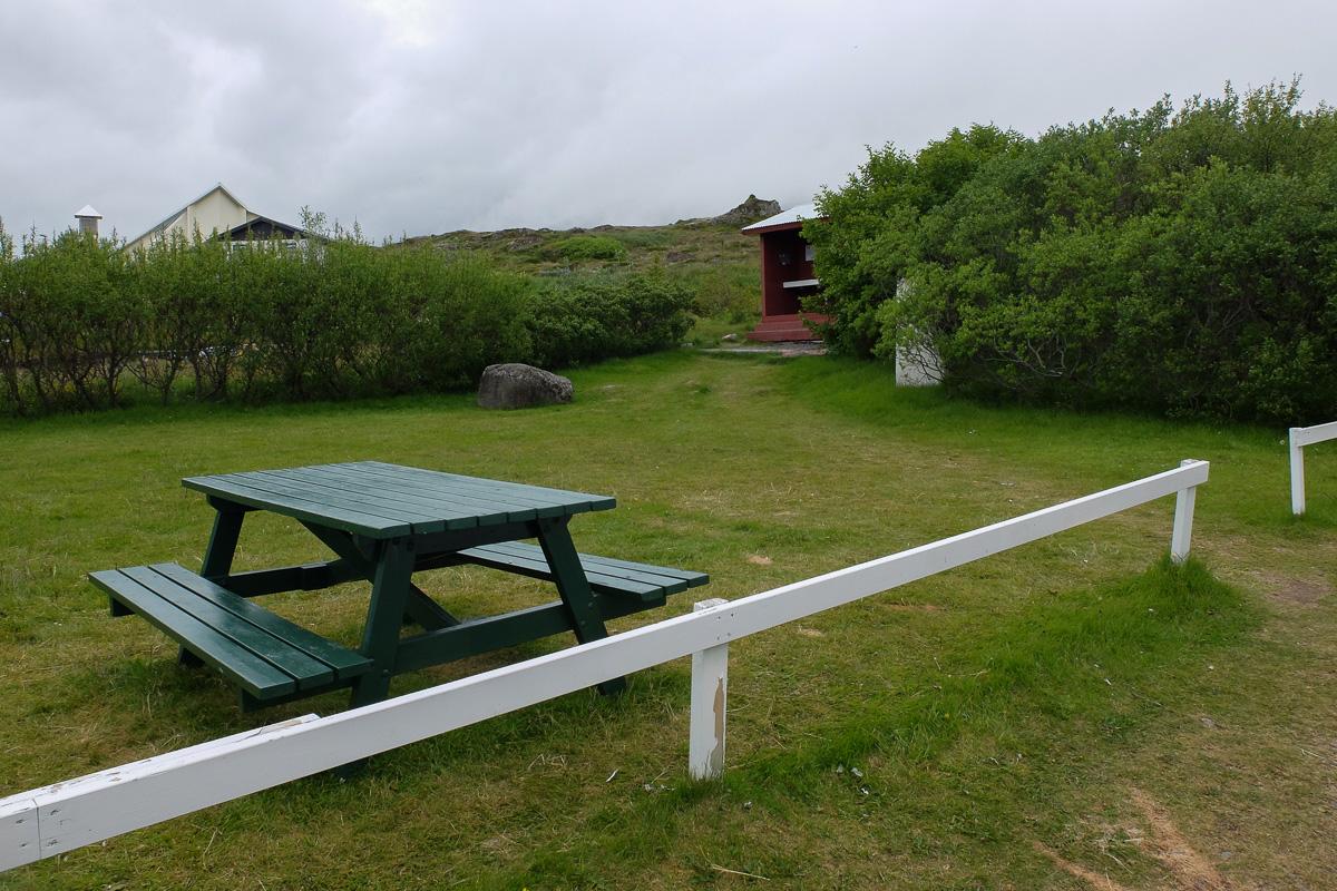 Islandia, pole namiotowe typu basic