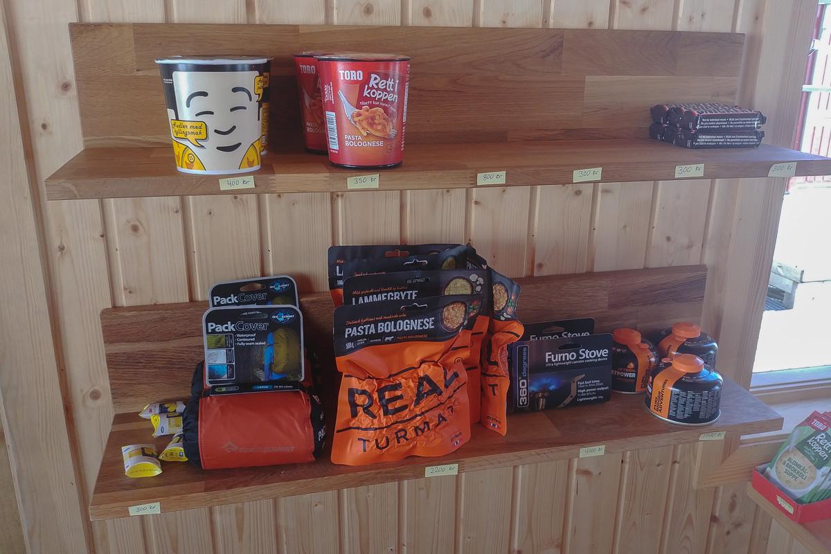 schroniskowy sklepik, Islandia