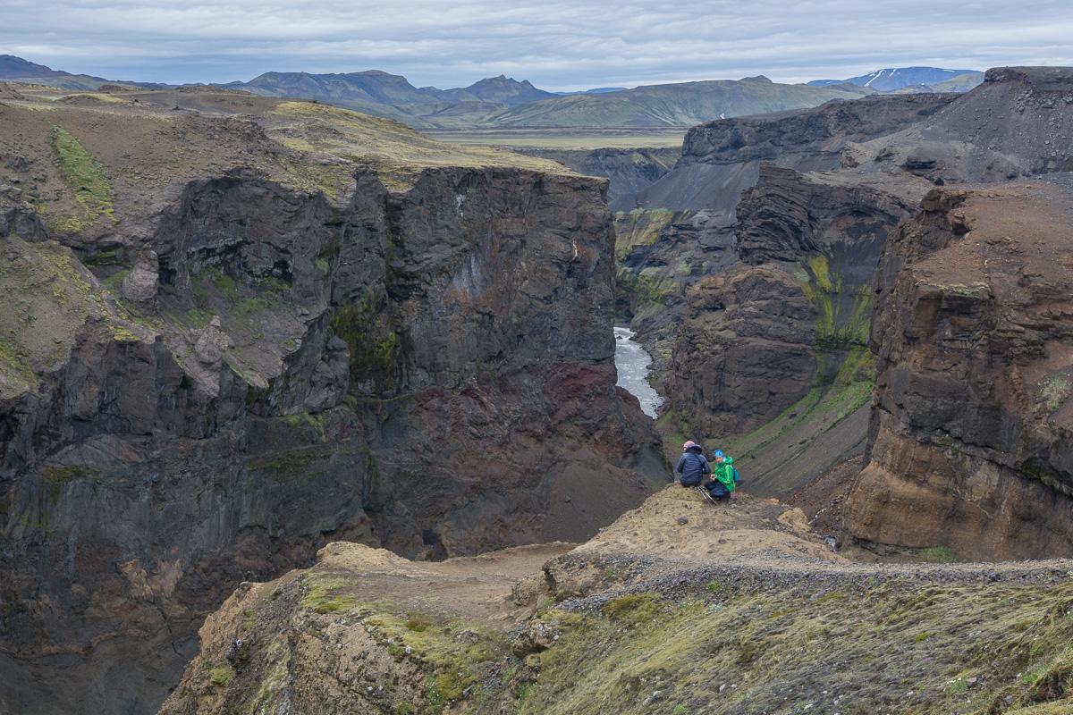 kanion MARKARFLJÓTSGLJÚFUR, Islandia