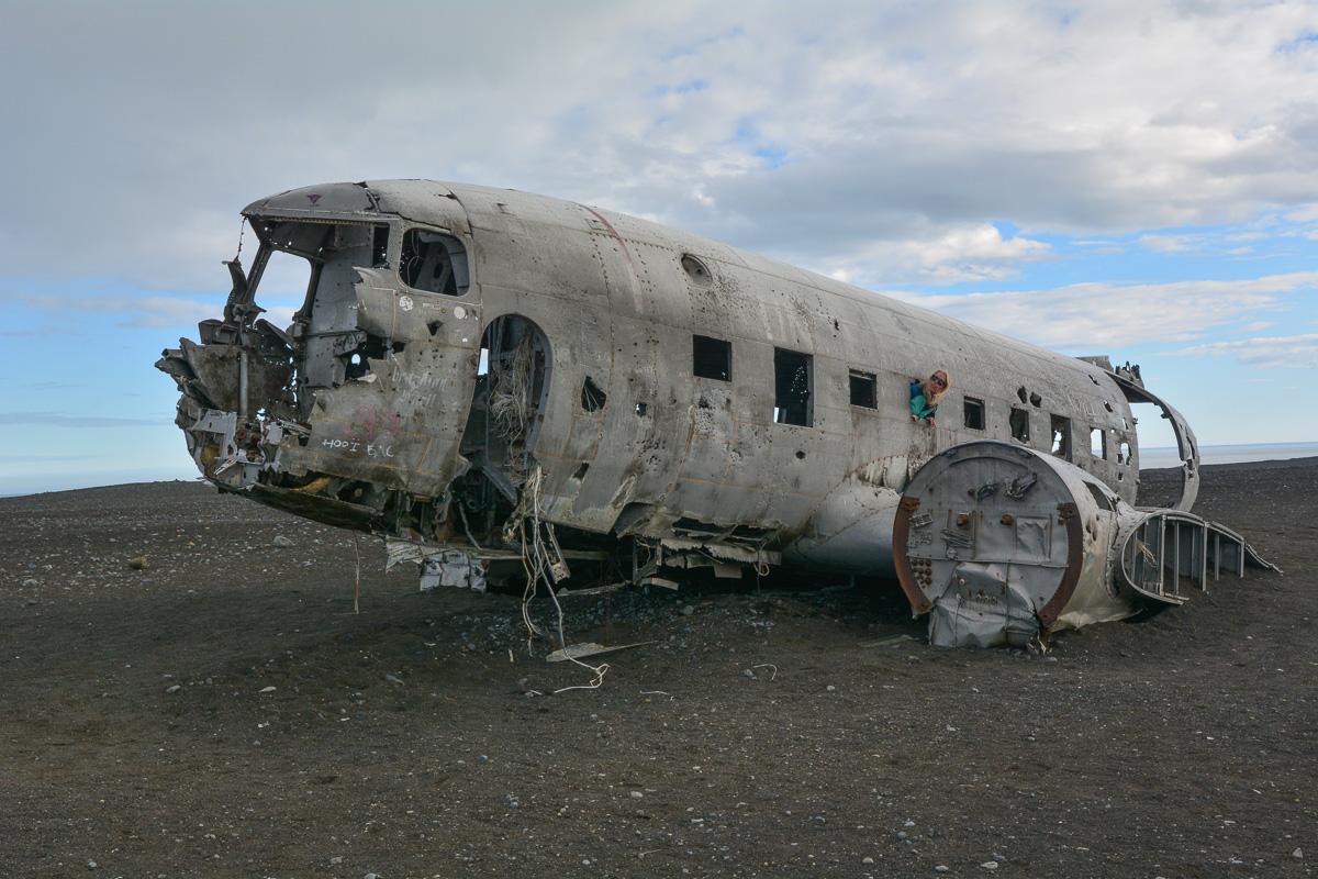 wrak samolotu Dakota, Islandia, atrakcje