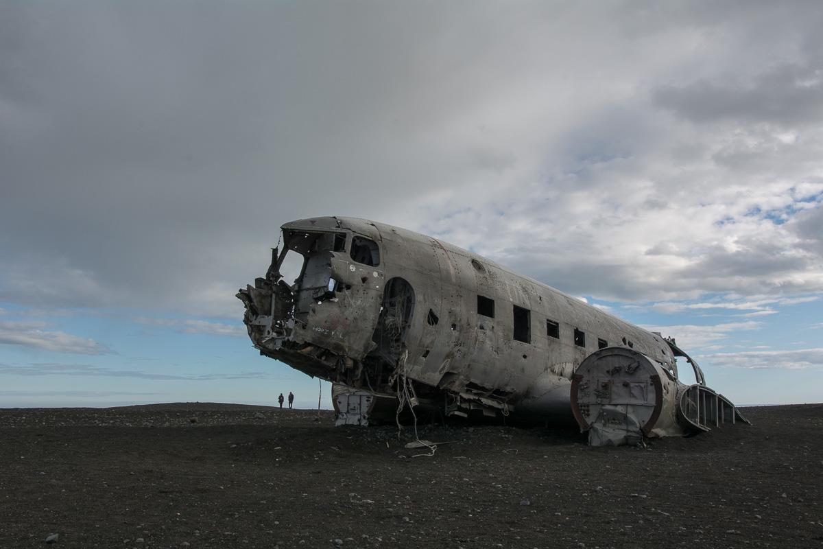 DC-117 Douglas Dakota, wrak, Islandia