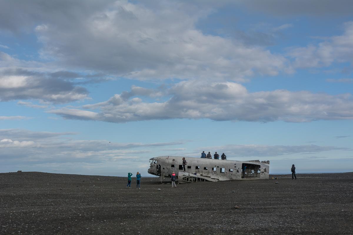 wrak samolotu Islandia