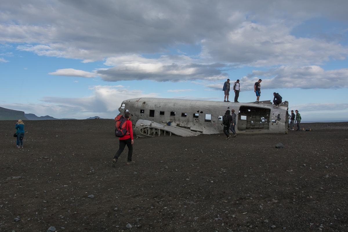 Wrak samolotu Dakota – najbardziej niebezpieczne miejsce na Islandii