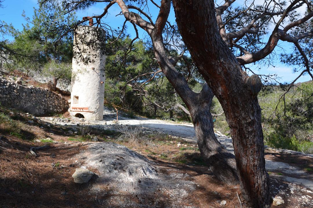 Szlak Smigies, Akamas, Cypr