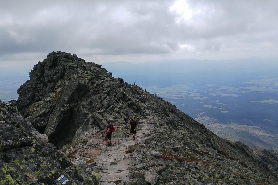 szlak na Krywań, Tatry Słowackie
