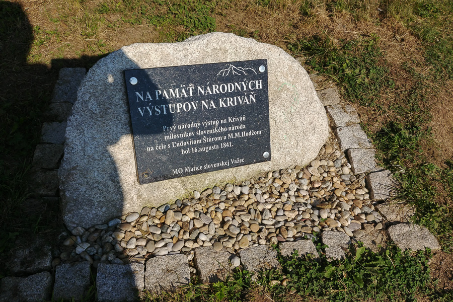 Słowacja, narodowe wyprawy na Krywań