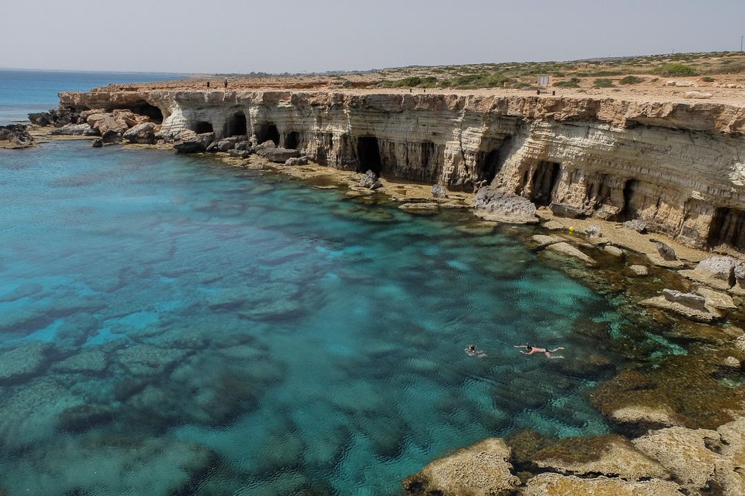 Ayia Napa, Jaskinie morskie, Cypr