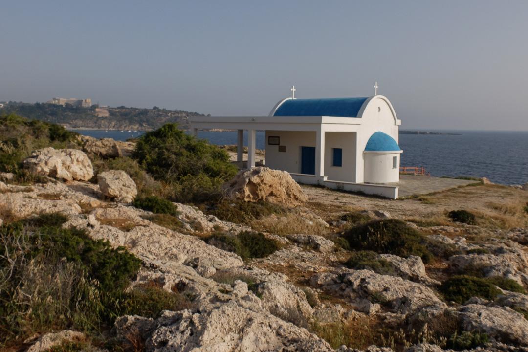 kośiół Agioi Anargyroi, Cape Greco, Cypr