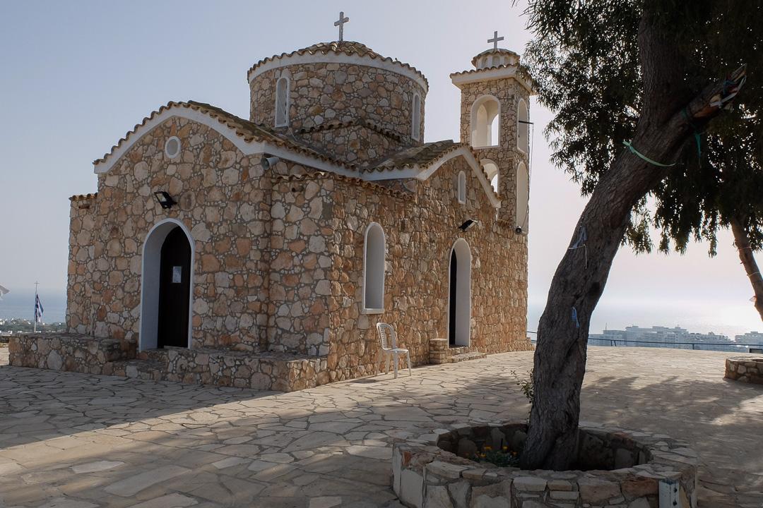 Protaras, kaplica św. Eliasza, Cypr