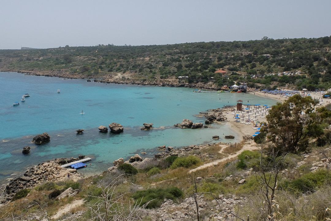 plaża Konnos, Cypr