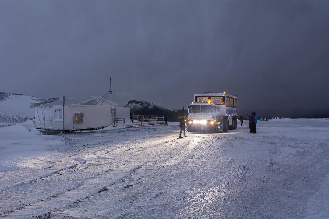 Langjokull, zima na Islandii, wycieczka, ice cave, tunel lodowy