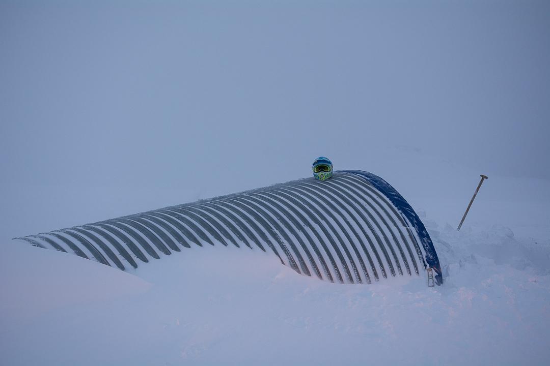 tunel lodowy na lodowcu Langjokull, Islandia