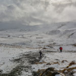 Reykjadalur - gorąca rzeka zimą i latem