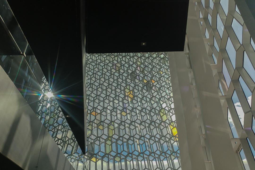 szklana fasada Harpy, Olafur Eliasson