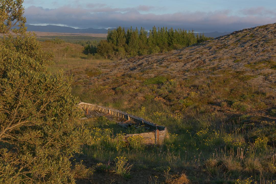 Heiðmörk, łódź, Saga o Njalu, Islandia