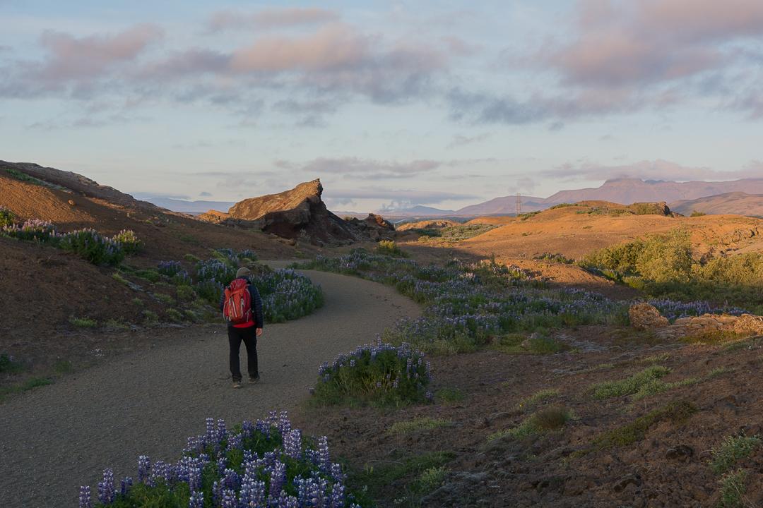Rauðhólar, Islandia, okolice Reykjaviku, pseudokratery