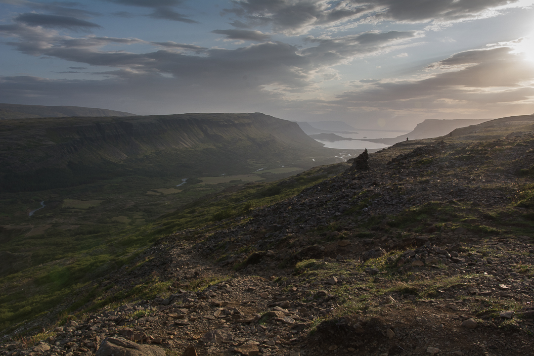 widok na Botnsadalur i Hvalafjordur, Islandia
