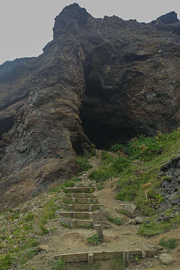 jaskinia Þvottahellir, Glymur