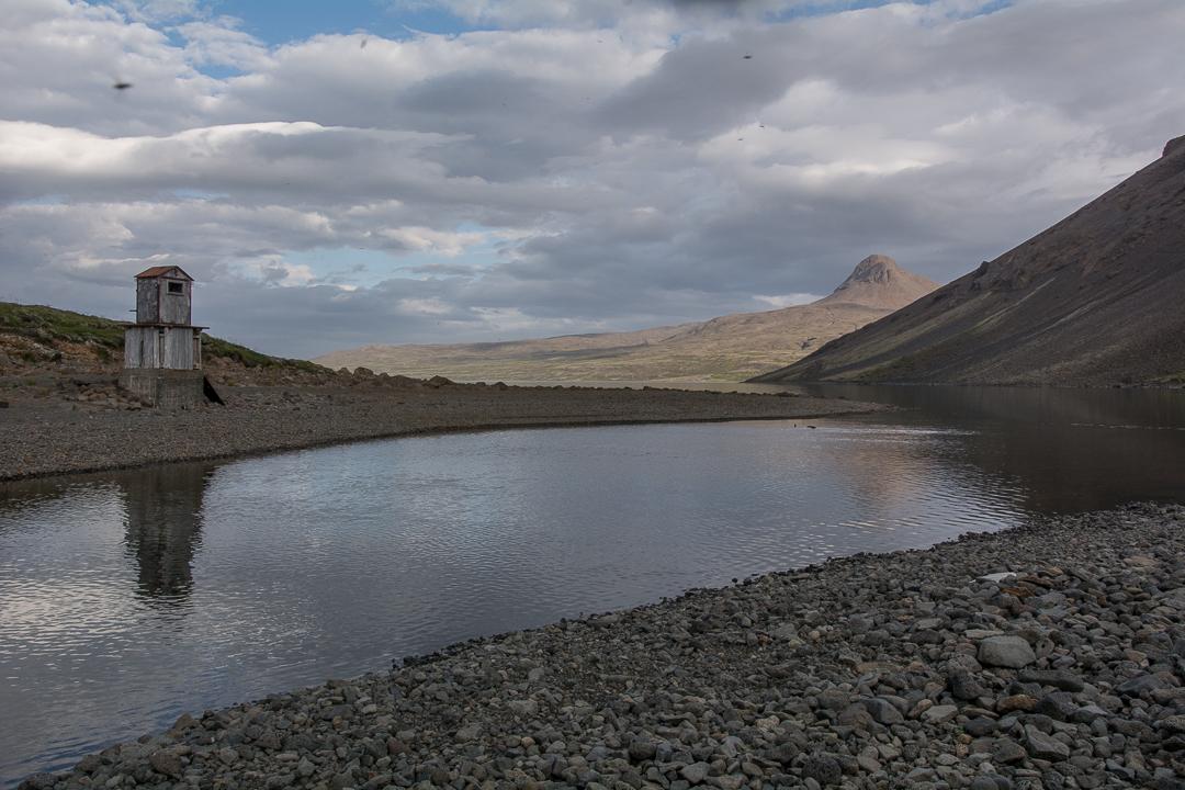 Jezioro Hvalvatn, Islandia