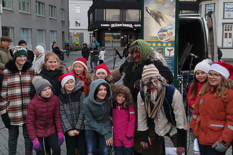 Grýla i Leppalúði, Yule Lads, islandzkie mikołaje, Boże Narodzenie na Islandii