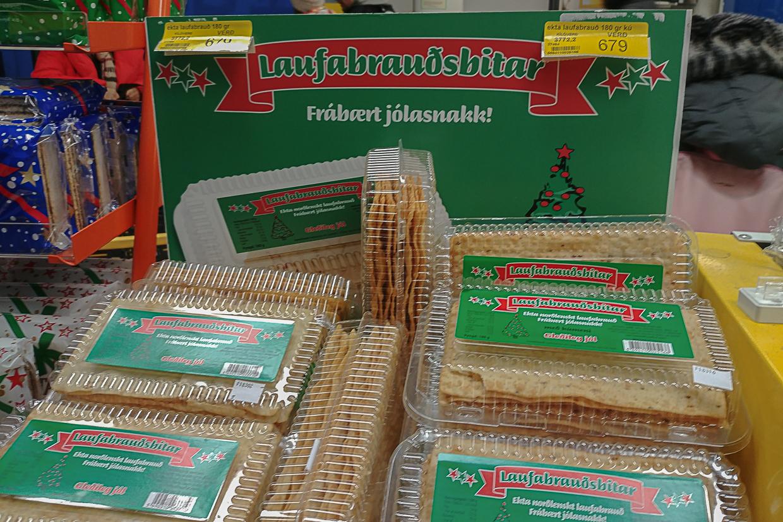 laufabrauð, specjalny chleb na Boże Narodzenie na Islandii