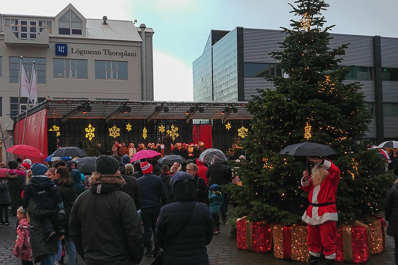 jarmark bożonarodzeniowy w  Hafnarfjörður