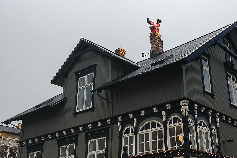Boże Narodzenie na Islandii, Mikołaj w kominie