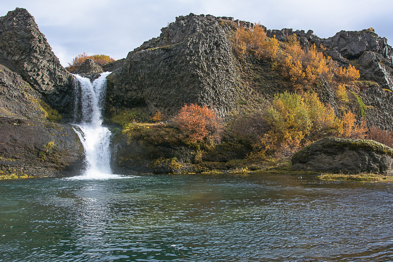 wąwóz Gjain, wodospad Gjarfoss, Islandia, Þjórsárdalur
