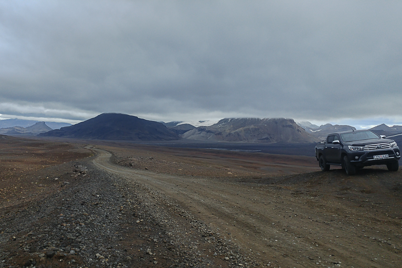 Kaldidalur, droga 550, Islandia