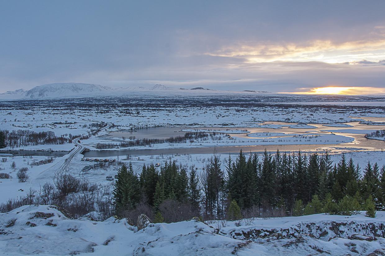 Golden Circle, Złoty Krąg na Islandii, Park Narodowy Þingvellir
