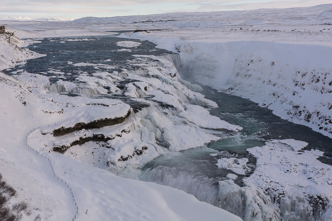 wodospad Gullfoss, Golden Circle, Islandia