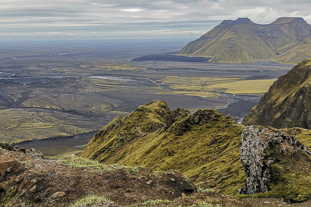 Höfðabrekkuheiði, gdzie kręcono serial  Gra o tron na Islandii