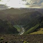 Þakgil - kemping w kanionie z dachem z chmur i piękne szlaki