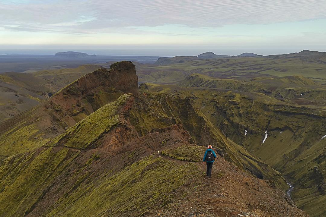 szlak żółty, szlaki z Þakgil