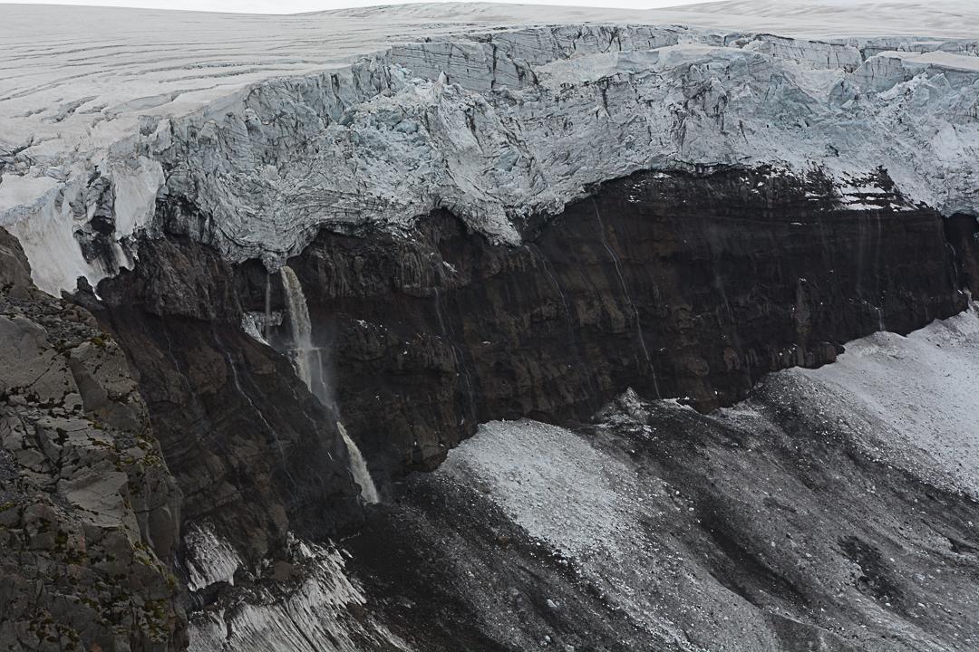 szlak żółty, Myrdarsjokull