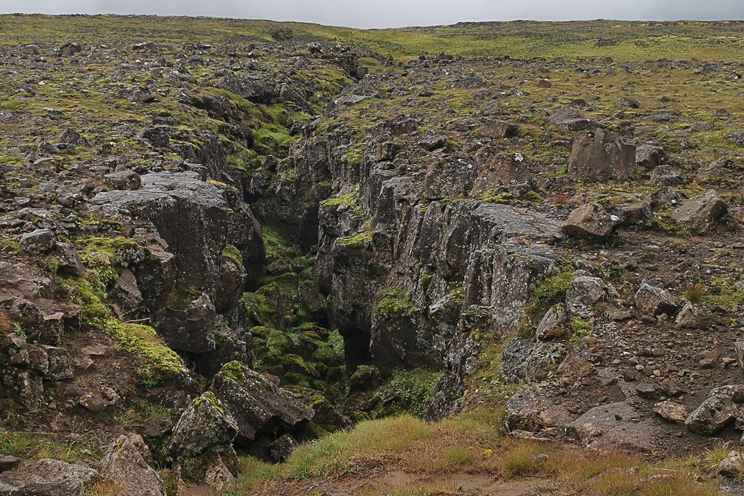wulkan Þríhnúkagígur, Bláfjöll, okolice Reykjaviku, Grzbiet Śródatlantycki