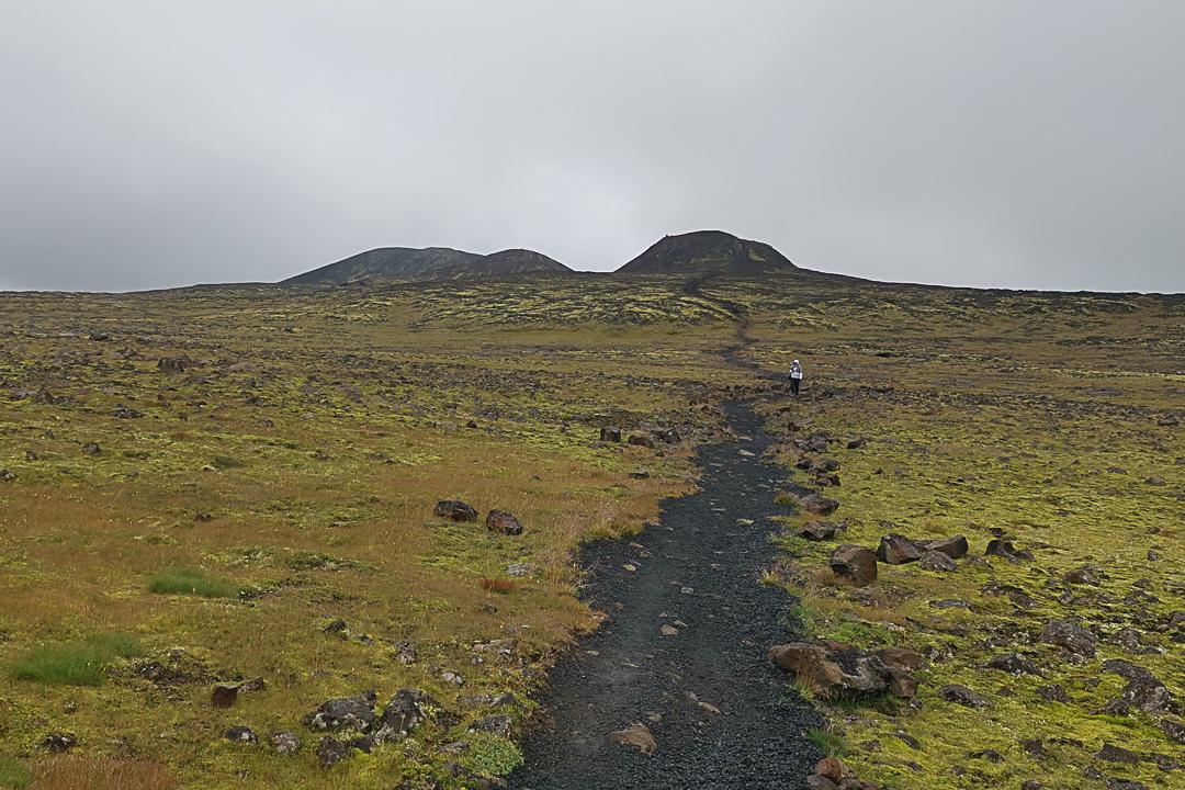 wulkan Þríhnúkagígur, okolice Reykjaviku