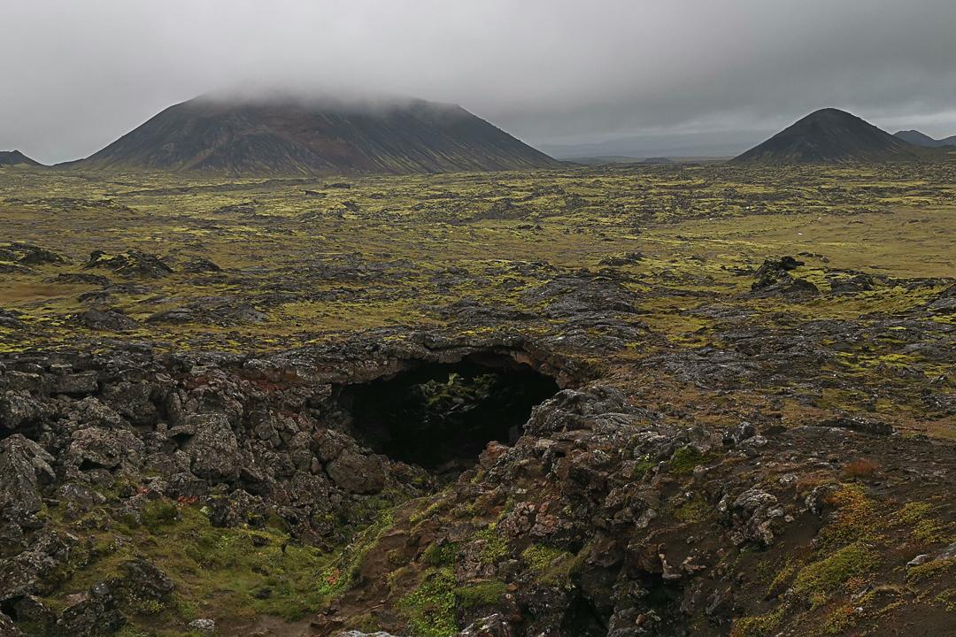 wulkan Þríhnúkagígur, Bláfjöll, okolice Reykjaviku